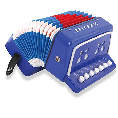 MUSICUBE 10 Keys Accordion, Kids Toy Accordion, Solo for sale  Delivered anywhere in USA