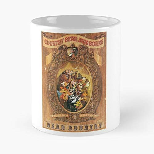 Country Bear Jamboree Bears Animatronic Animatronics - Best Gift Ceramic Coffee Mugs 11 Oz