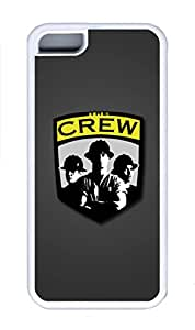 5C Case, iPhone 5C Case Cover, Custom Design Soft Rubber TPU White Cases Columbus Crew Shoockproof Protective Case Cover for New Apple iPhone 5C
