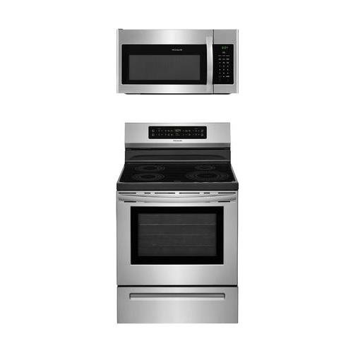 Frigidaire 2-Piece Stainless Steel Kitchen Package with FFIF3054TS 30