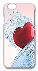 ACESR Lastest iPhone 6 Cases, Heart PC Hard Case Cover for Apple iPhone 6 (4.7 INCH) - 3D Design iPhone 6 Case by mcsharks