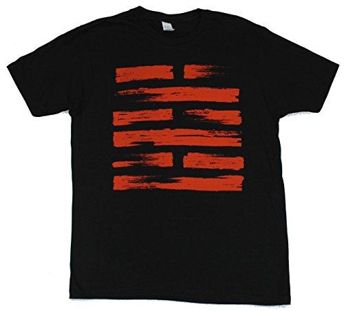 GI Joe G.I. Joe Mens T-Shirt - Distressed Snake Eyes Arashikage Logo image (Large) Black