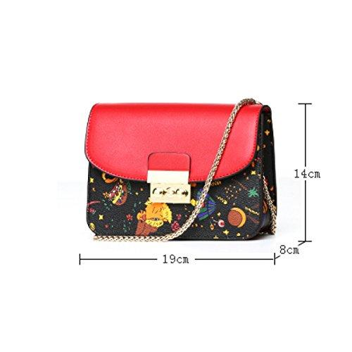 Tasche Borse Donna Tracolla A Mano Eleganti Tote Multi Da Lavoro Borsa Nero Black Casual Viaggio 4A5Lq3cRj