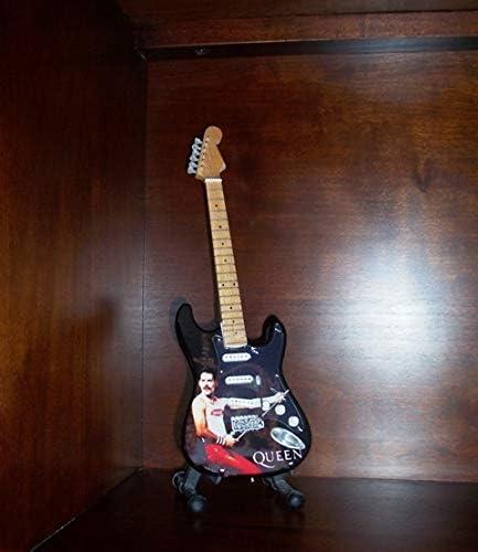 Mini Guitarra QUEEN FREDDIE MERCURY Figurilla Presente: Amazon.es ...