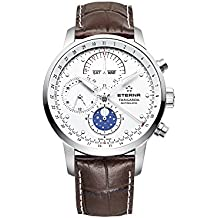 Eterna Tangaroa New Moonphase Automatic Watch, ETA Valjoux 7751, Chronograph