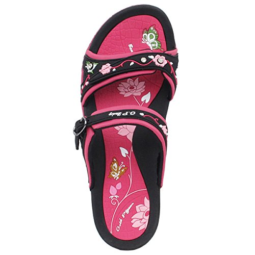 4 5 Women Sole Waterproof Fuchsia Signature 9 Size Sandals 6875 Comfort Egronomic qI0dxwXz1x