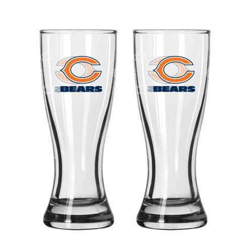 NFL Chicago Bears Mini Pilsner, 2.5-ounce, 2-Pack