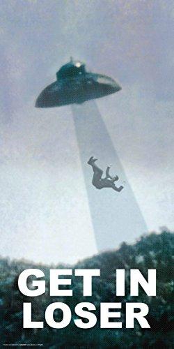 Culturenik Get in Loser, UFO Alien Novelty Humor Print (Unframed 12x24 - Alien Pictures