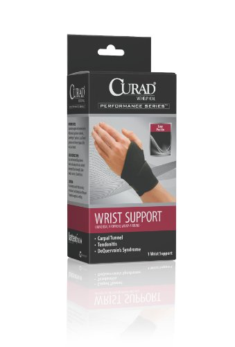 CURAD Universal Wrap-Around Wrist Supports,Universal, Qty 4
