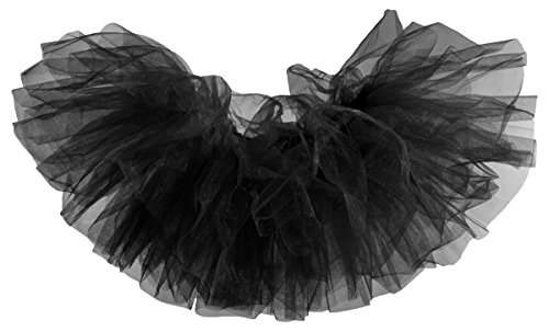 Dancina Black Tutu for Women Sexy Mini Tulle Skirt 10