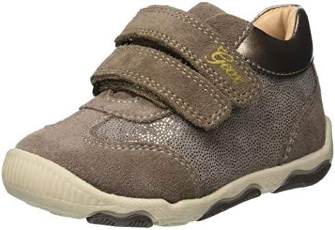 Super Qualität billig für Rabatt günstig kaufen Geox New Balu Girl 15 Sparkle Adventure Shoe Sneaker, Smoke ...