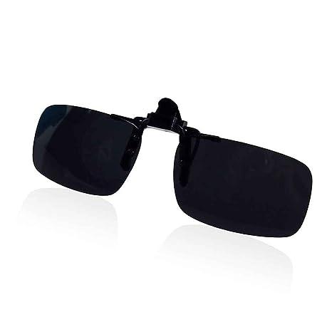 Morza Unisex Drive Gafas de Sol polarizadas Espejo UV400 Gafas de Sol con Clip desplegable para la
