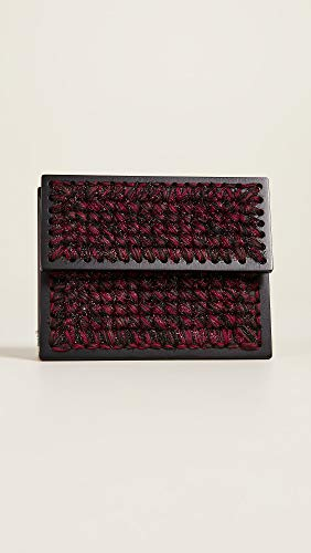 Burgundy Women's Brown 0711 Clutch Copacabana qZwWBY