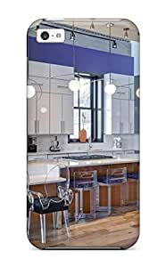 Tony Diy - New Oversized Kitchen Island With Table Height MGXDoY3tDNN Counter protective Iphone 5c Classic Hardshell case cover