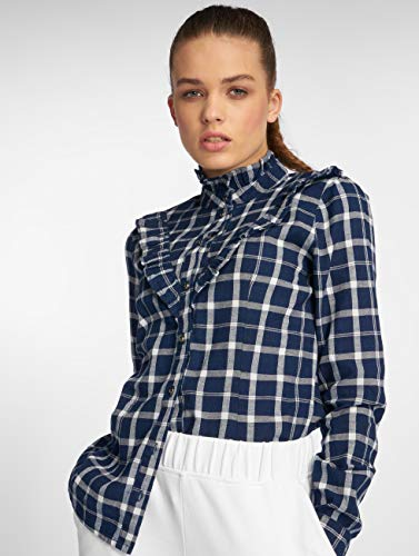 Camicia Blu Jaden Blue Frill Only fwIqd7I