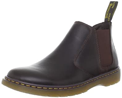Dr martens conrad overdrive dark brown mens boots brown for Amazon dr martens