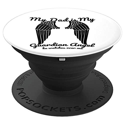 Dad Grief Condolence Bereavement Grieving Gifts - PopSockets Grip and Stand for Phones and Tablets
