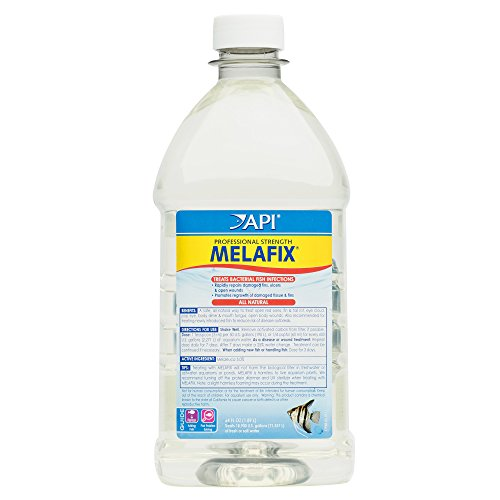 (API MELAFIX Freshwater Fish Bacterial Infection Remedy 64-Ounce Bottle)