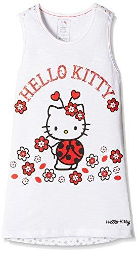 Hello Kitty Girls' T-Shirt (HT0EGT977_Star White_2 - 3 years)