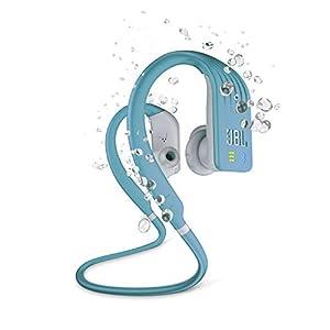 JBL Endurance Dive by Harman Waterproof Wireless in-Ear Sport Headphones with Built-in Mp3 Player (Teal)