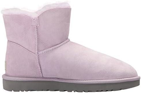 UGG - Stivali Mini Bailey Button Poppy - Lavender