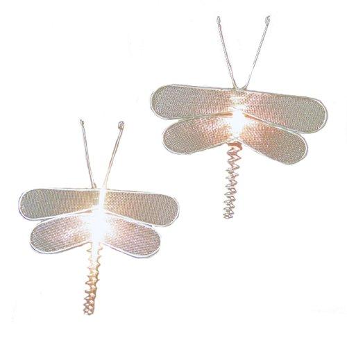 - Kurt Adler 10-Light Silver Mesh Dragonfly Light Set