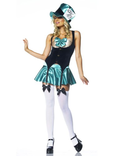 Tea Party Hostess Sexy Costumes (Tea Party Hostess Adult Costume - Medium/Large)