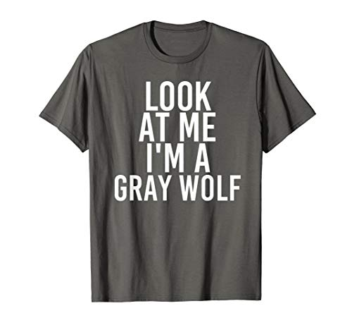 Gray Wolf Costume Group Easy Outfit Shirt for -