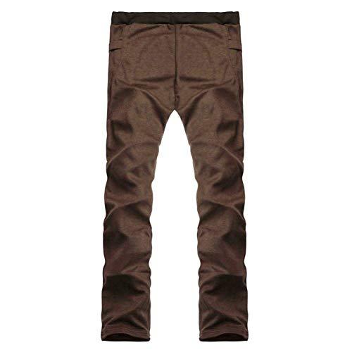 Hommes Jarretelles Avec Pantalon Jogger Jogging Basique De Mélange Pour Kaffee Coton Survêtement En Sport X5x4q5