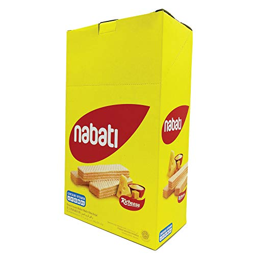 Richeese Nabati Cheese Wafer 8g (628MART) (20 Piece)