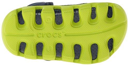 Crocs Duett Sport Täppa Barn Marin / Volt Grön