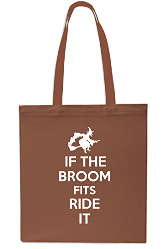 Gym Bag 10 42cm Beach Tote If Shopping litres Ride Grey Broom Chestnut x38cm It The Halloween Fits wOCH8