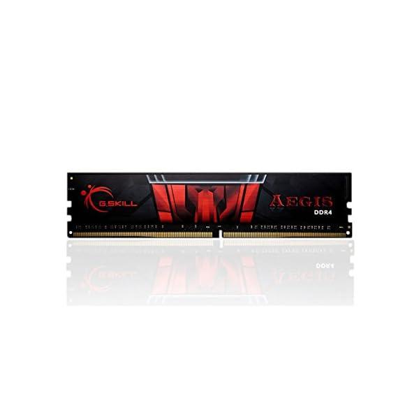 G.SKILL F4-2400C15S-8GIS Aegis Series 8GB (1 x 8GB) 288-PinDDR4-2400MHz