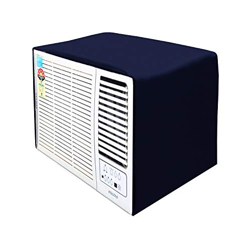 Lithara Blue Colored Window AC Cover for O'General AMGB13AAT AC 1 Ton