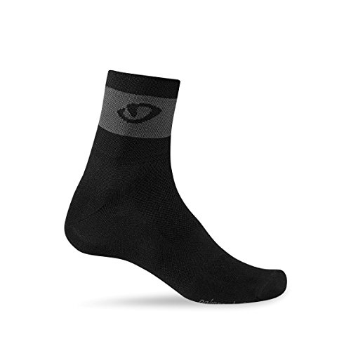 Giro Comp Racer 3 Pack Cycling Socks - Black/Dark Shadow - Cycling Socks