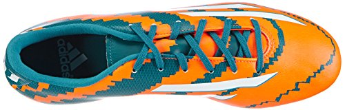 adidas Performance Messi 10.3 FG, Scarpe da calcio uomo Arancione (Orange (Power Teal F14/Ftwr White/Solar Orange))