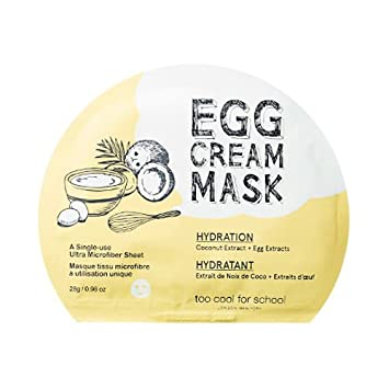 Image result for egg cream mask