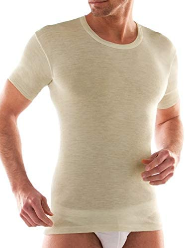 Liabel 3 t-shirt uomo mezza manica girocollo lana e cotone art 5810//E23