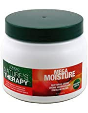 Loreal Natures Therapy Mega Moisture Creme 16 Ounce Jar (473ml) (2 Pack)
