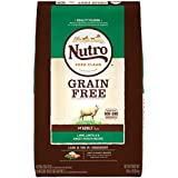 NUTRO GRAIN FREE Natural Adult Dry Dog Food Lamb, Lentils and Sweet Potato, 24 lb. Bag