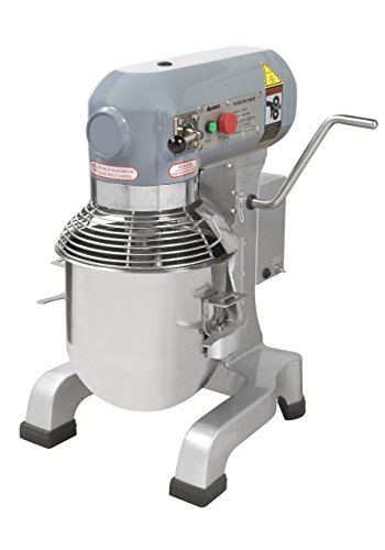 Heavy Duty gear driven commercial planetary mixer, 10 quart, 120V, Adcraft PM-10 by Adcraft