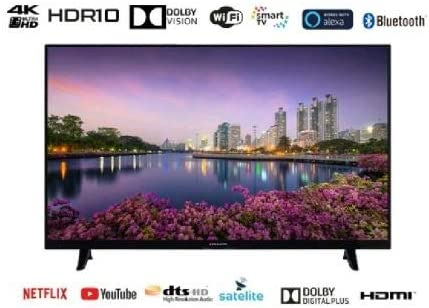 EAS E43SL952 TELEVISOR 43'' UHD 4K Smart TV DVB-T/T2/C/S/S2 HEVC