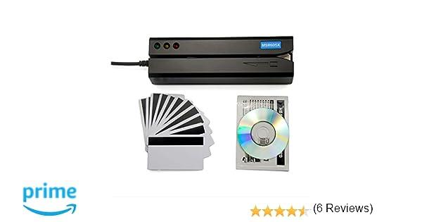Deftun MSR605X MSR206 - Lector de Tarjetas de crédito (magnético, USB)