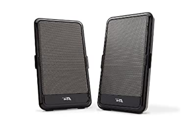 Cyber Acoustics USB Powered Speaker - Portable Design for Travel (CA-2988) from Cyber Acoustics