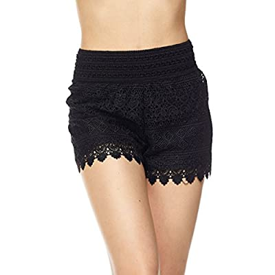 ToBeInStyle Women's Lace Shorts | Amazon.com