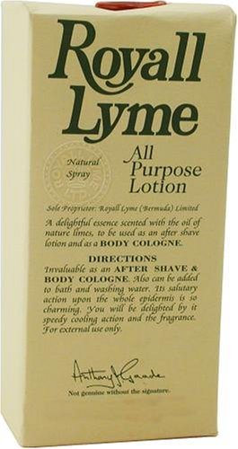 Royall Lyme By Royall Fragrances For Men. Aftershave Lotion Cologne Spray 4 ()