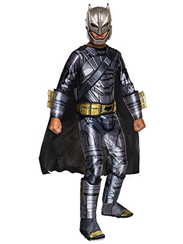 Batman V Superman: Dawn Of Justice - Deluxe Batman Armored Costume for Kids, Medium ()
