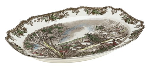 Johnson Brothers Friendly Village 19.5-Inch Turkey Platter by Johnson Brothers