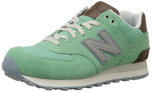New Balance Women WL574 Beach Cruiser Pack Classic Running Shoe Mint