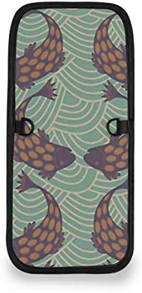 トラベルウォレット ミニ ネックポーチトラベルポーチ ポータブル レトロ 魚柄 小さな財布 斜めのパッケージ 首ひも調節可能 ネックポーチ スキミング防止 男女兼用 トラベルポーチ カードケース